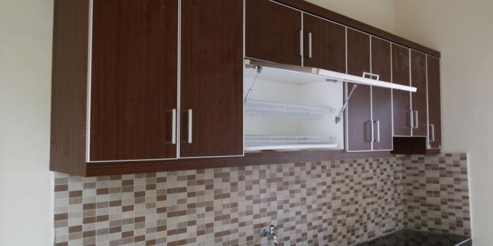 Kitchenset Coklat, Sensasi Dapur Hangat