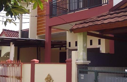 Rumah Tipe 45 Diupgrade Jadi Rumah Mewah 2Lantai, Beji, Depok