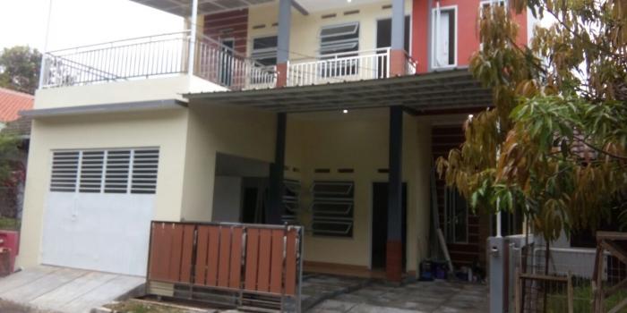 Rumah Lama Dengan Bentuk Serba Semrawut, Diupgrade Jadi Mewah, Cimanggis.