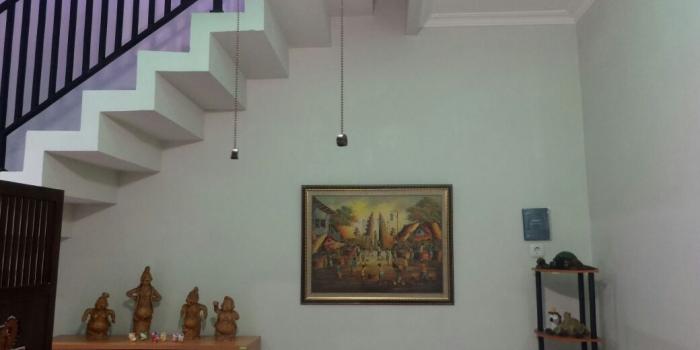 Rumah 1 Lantai, Menjadi 2 Lantai, Ada Sentuhan Jawa Dan Hemat Biaya, Di Bekasi.